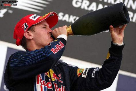 Formel 1-Saison 2009, GP von Bahrain Sebastian Vettel Red Bull