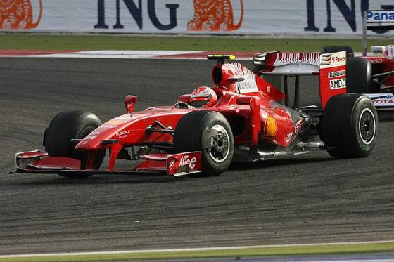 Kimi Räikkönen verhinderte das Ferrari-Desaster. Mit Rang sechs holte der Ice-Man die ersten Punkte für die Scuderia.
