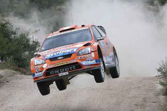 WRC Rallye-WM Argentinien 2009, Henning Solberg Stobart Ford Focus RS