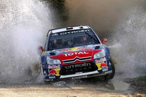 WRC Rallye-WM Argentinien 2009 , Sébastien Loeb Citroën C4