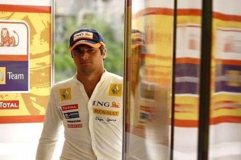 Die Leistungen von Nelson Piquet bei Renault werden kritisch beäugt