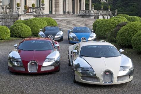 Bugatti Veyron Sondermodelle