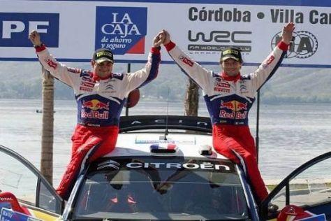 Der Siegeszug geht weiter: Sébastien Loeb und Daniel Elena