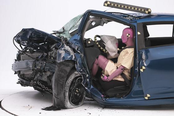 US-Crashtest: Toyota Yaris