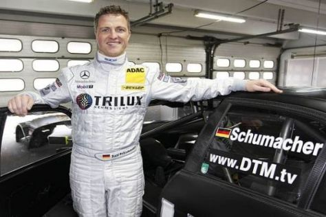 Ralf Schumacher hat die Vorbereitung mit den Tests in Hockenheim abgeschlossen