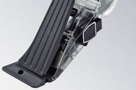 Continental baut Gaspedal