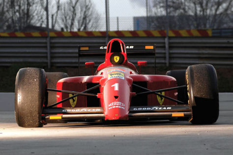 1990 Ferrari 641/2 F1 Rennwagen