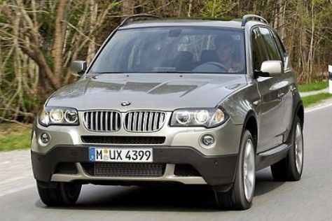 Facelift BMW X3