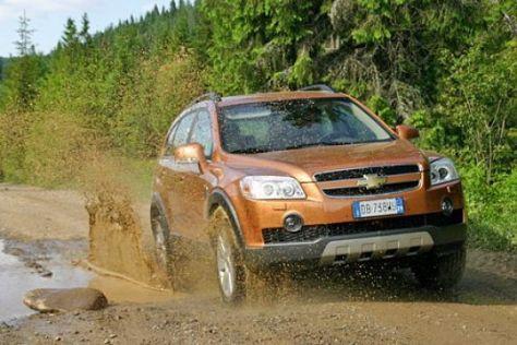 Test Chevrolet Captiva