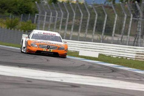 Bruno Spengler fuhr in Gary Paffetts Auto zur letzten Bestzeit des Tests
