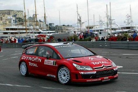 Die WRC-Boliden werden auch 2010 nicht durch den Hafen von Monaco rasen
