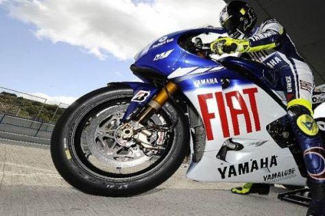 Valentino Rossi überzeugte am Freitag mit Fabelzeiten in Jerez