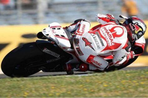 Mika Kallio muss sich beim Rennstart in Jerez weit hinten anstellen