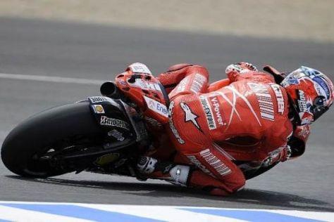 Casey Stoner war noch nie auf dem Jerez-Podest: Morgen die große Chance?