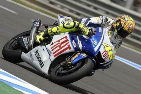 Es geht also doch: Valentino Rossi hat seinen guten Speed wiedergefunden