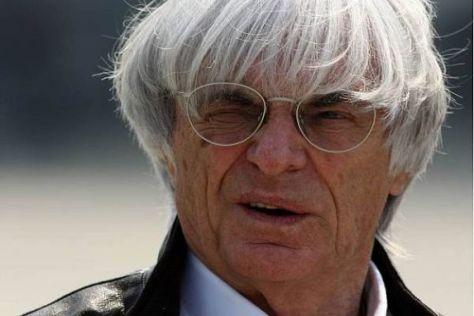Bernie Ecclestone ist zufrieden: Mehr Fans vor den Bildschirmen