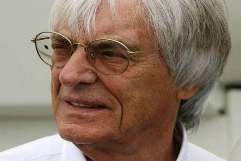 Bernie Ecclestone möchte Ferrari unbedingt auch weiterhin in der Formel 1 sehen