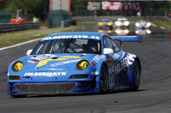 LMS 2009 Spa-Francochamps Porsche GT3 RSR Team Felbermayr-Proton