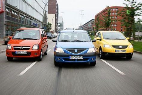 Drei günstige Diesel-Minis im Test