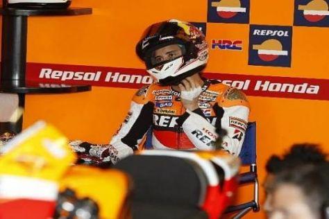 Andrea Dovizioso war mit seinem Abschneiden in Jerez gar nicht zufrieden