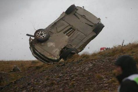 Heftige Unfälle gehören im Rallyesport fast zum Alltag: Sicherheit hat Priorität