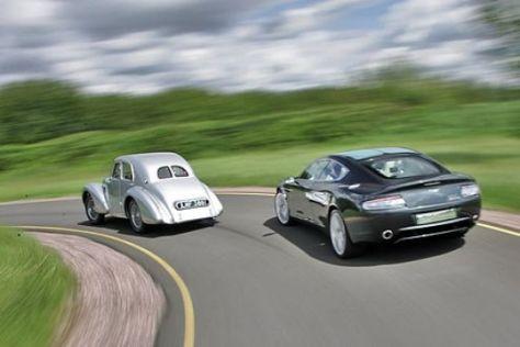 Aston Martin Atom trifft den Rapide