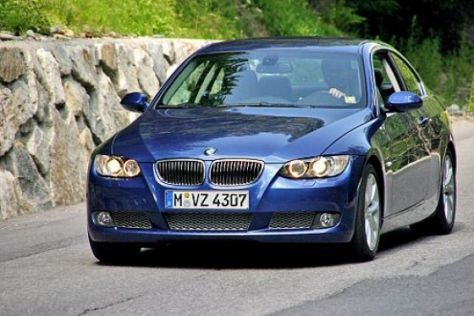 Test BMW 335i Coupé