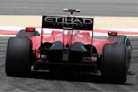 Der Ferrari F60 bekam einen komplett neuen Doppeldiffusor verpasst