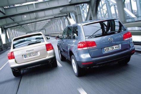 VW Touareg V6 und Porsche Cayenne V6