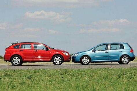 Vergleich Dodge Caliber – VW Golf