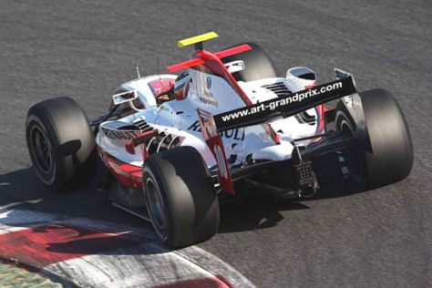 GP2-Saison 2009, Nico Hülkenberg Team ART
