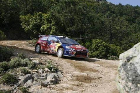 Sébastien Loeb holte im vergangenen Jahr auf Sardinien seinen 40. WRC-Sieg