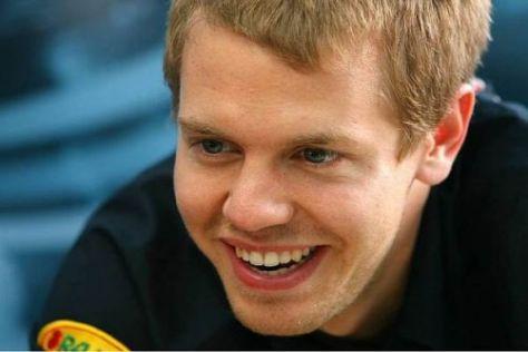 Sebastian Vettel kann mit dem für ihn neuen Erfolgsdruck offenbar gut umgehen