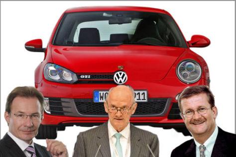 Chronologie der Porsche-Ereignisse