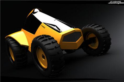 Lamborghini Reventón Traktor