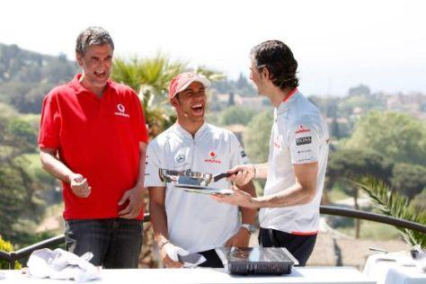 Formel 1 GP von Spanien 2009 Lewis hamilton Vodafone McLaren Mercedes