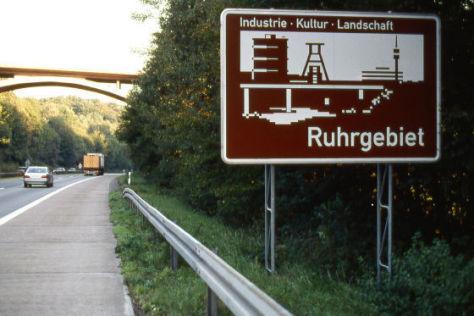 Ruhrgebiet-Grenze