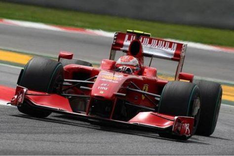 Kimi Räikkönen ist ziemlich begeistert von den Verbesserungen am Auto