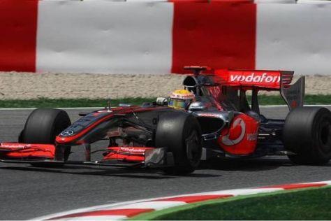 Lewis Hamilton spürte keine Verbesserung mit den neuen Teilen