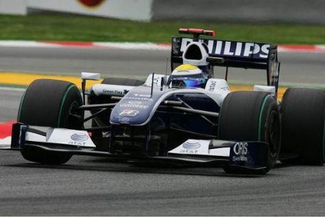 Nico Rosberg setzt im Rennen auf ein schweres Auto