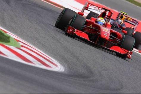 Felipe Massa freute sich, wieder Blickkontakt mit der Spitze zu haben