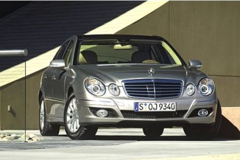 Gepanzerte Mercedes E-Klasse