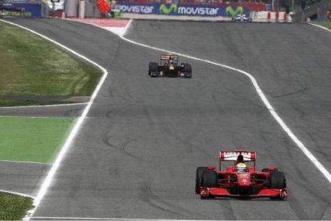 Am Ferrari von Felipe Massa führte heute einfach kein Weg vorbei...