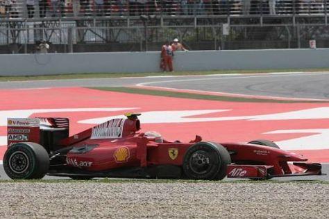 Kimi Räikkönen ist Ausfälle und Probleme allmählich leid