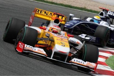 Fernando Alonso sammelte für das Team doch noch WM-Punkte