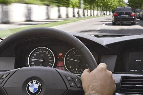 Fahrerassistenzsysteme von BMW