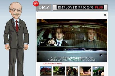 DaimlerChrysler-Chef Zetsche als Werbestar