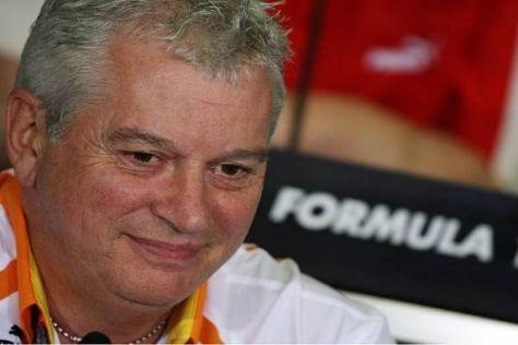 Pat Symonds weiß, dass Renault derzeit noch großen Aufholbedarf hat
