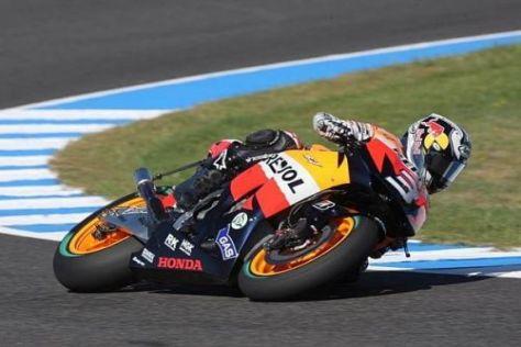 Honda-Pilot Dani Pedrosa stand zuletzt zweimal auf dem Podium der MotoGP