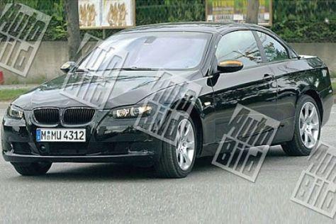 Erlkönig BMW 3er Cabrio